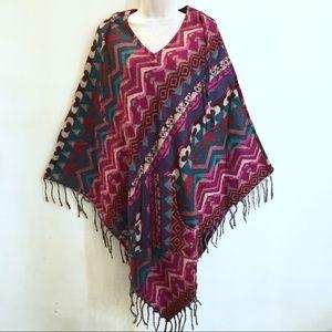 Sacred Threads hippie bohemian festival poncho
